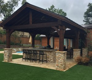 Arbors & Pergolas #003 by Pool And Patio