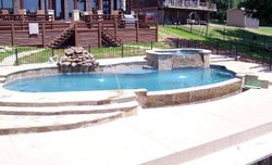 Custom Feature #015 by Pool And Patio