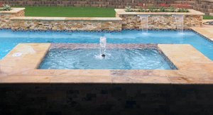 Custom Feature #028 by Pool And Patio
