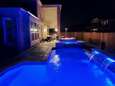 Custom Feature #036 by Pool And Patio