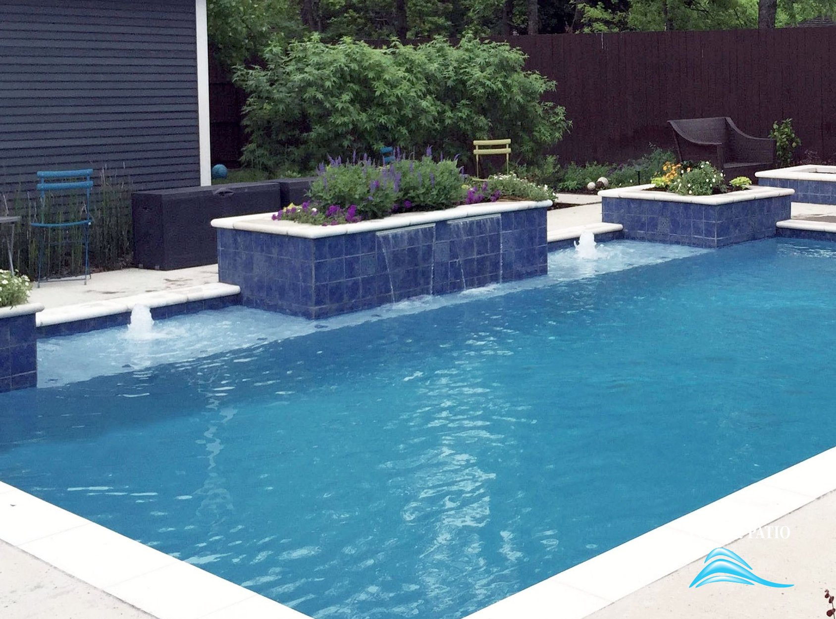 ... Custom Feature #003 By Pool And Patio ...