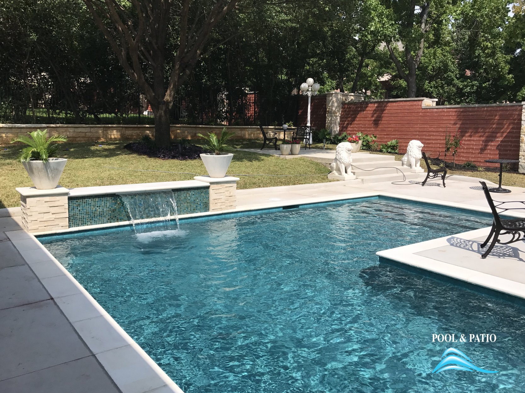 ... Custom Feature #031 By Pool And Patio ...