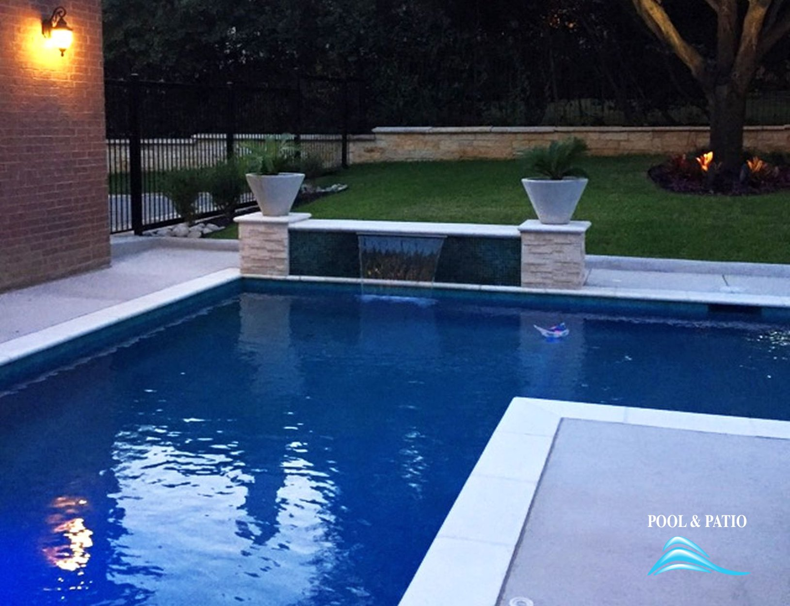 Custom Feature 033 By Pool And Patio