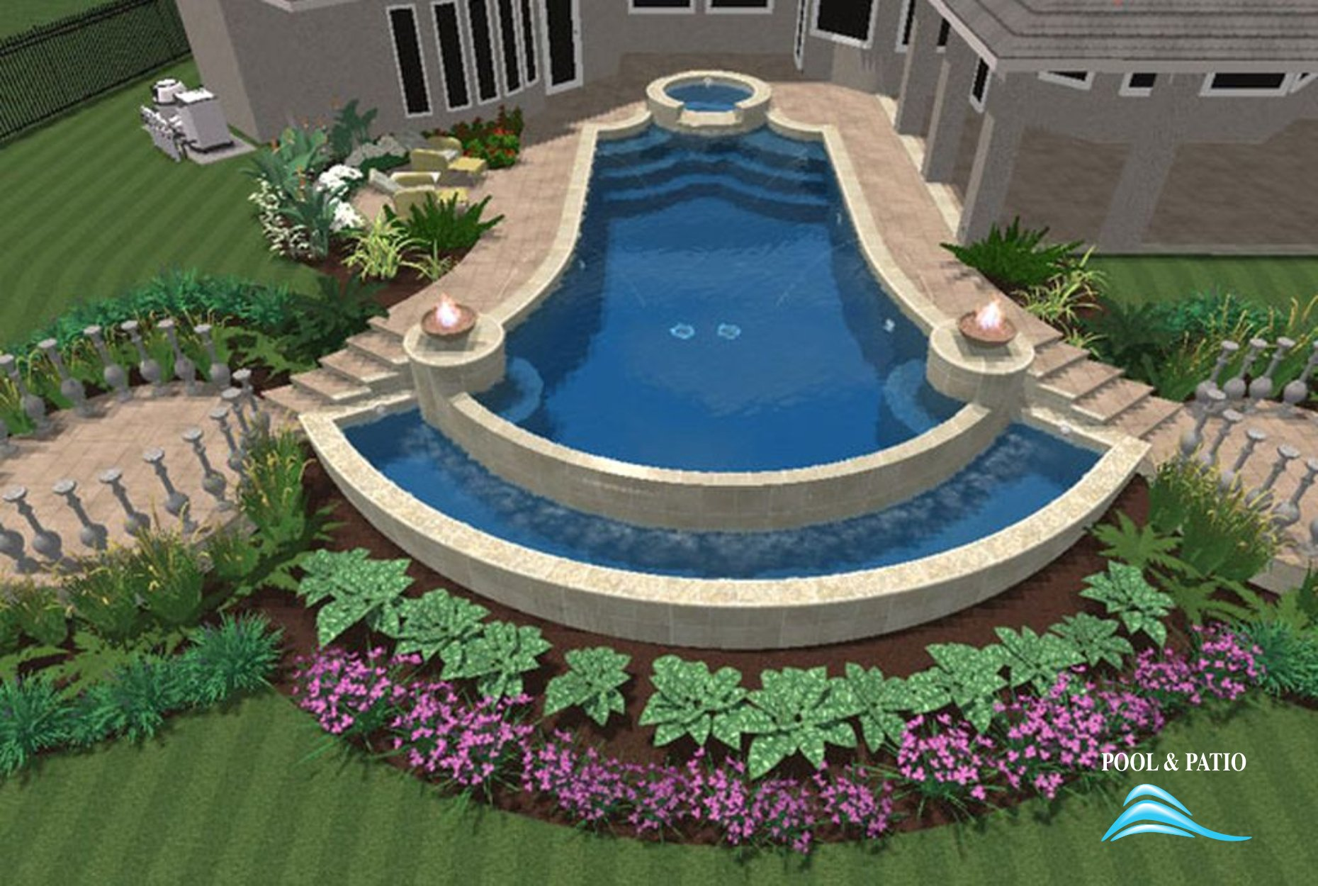Design Service 004 By Pool And Patio