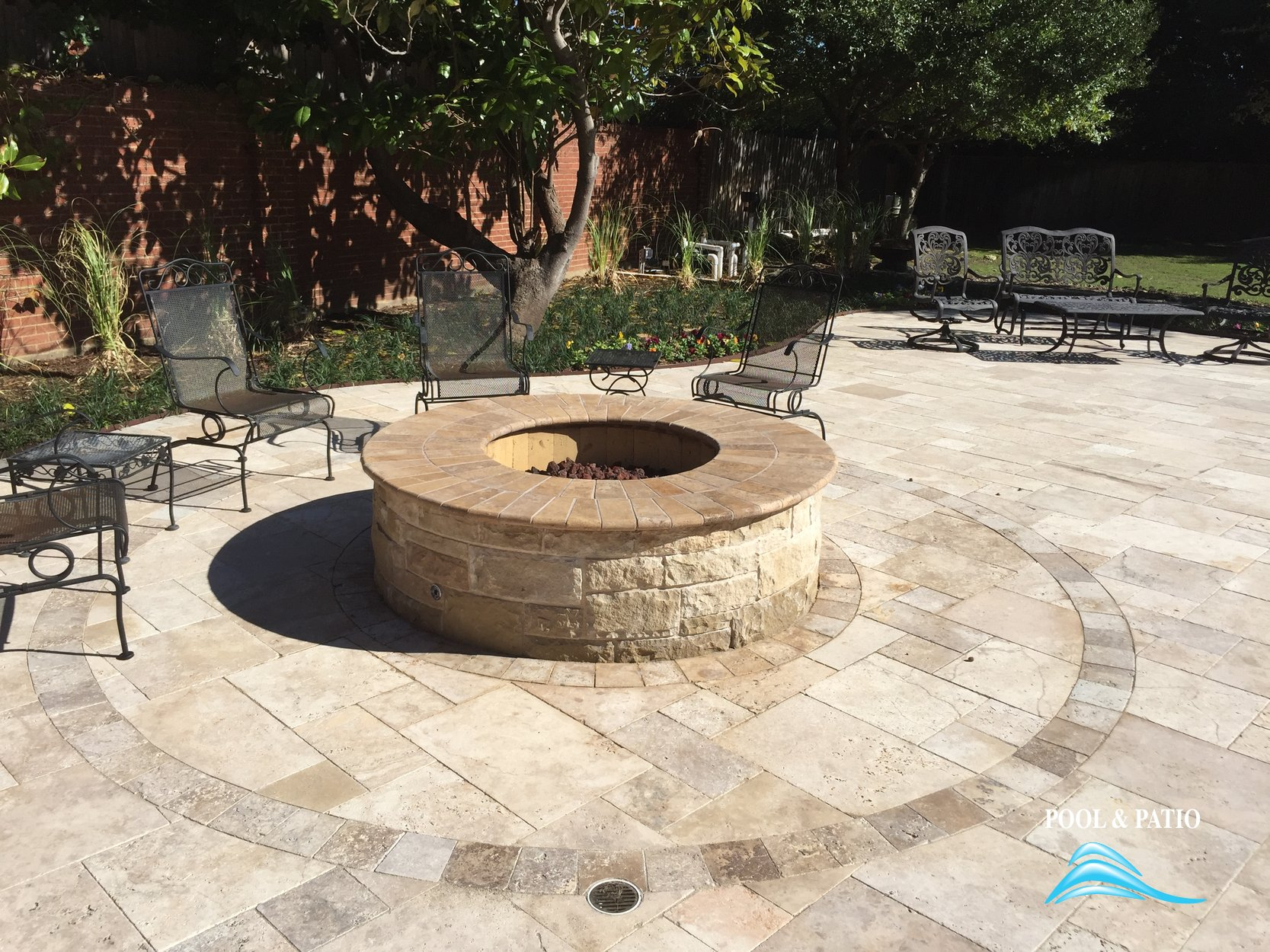 Outdoor living services grand prairie texas for Fire pit ideas outdoor living