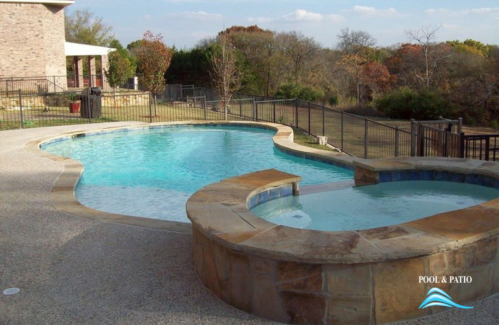 ... Gunite Pool #001 By Pool And Patio ...