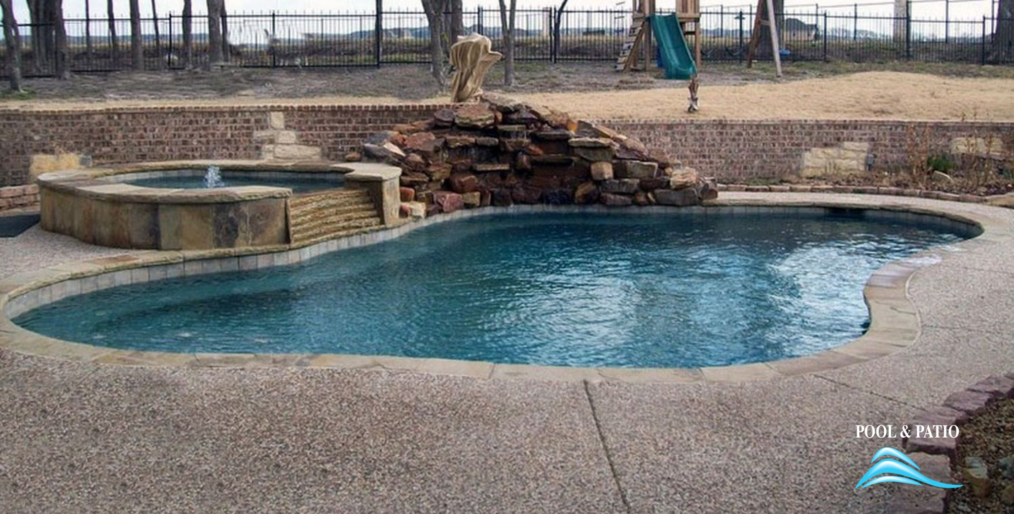 Gunite Pool 003 By And Patio