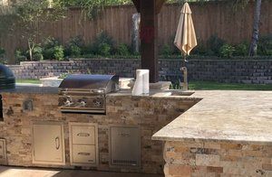 Outdoor Kitchen #002 by Pool And Patio
