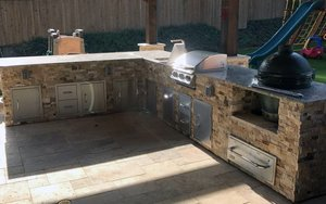 Outdoor Kitchen #003 by Pool And Patio